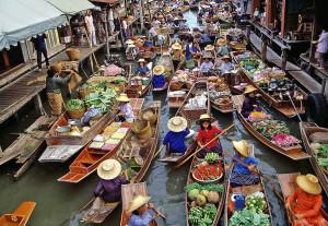Thai floating markets 2