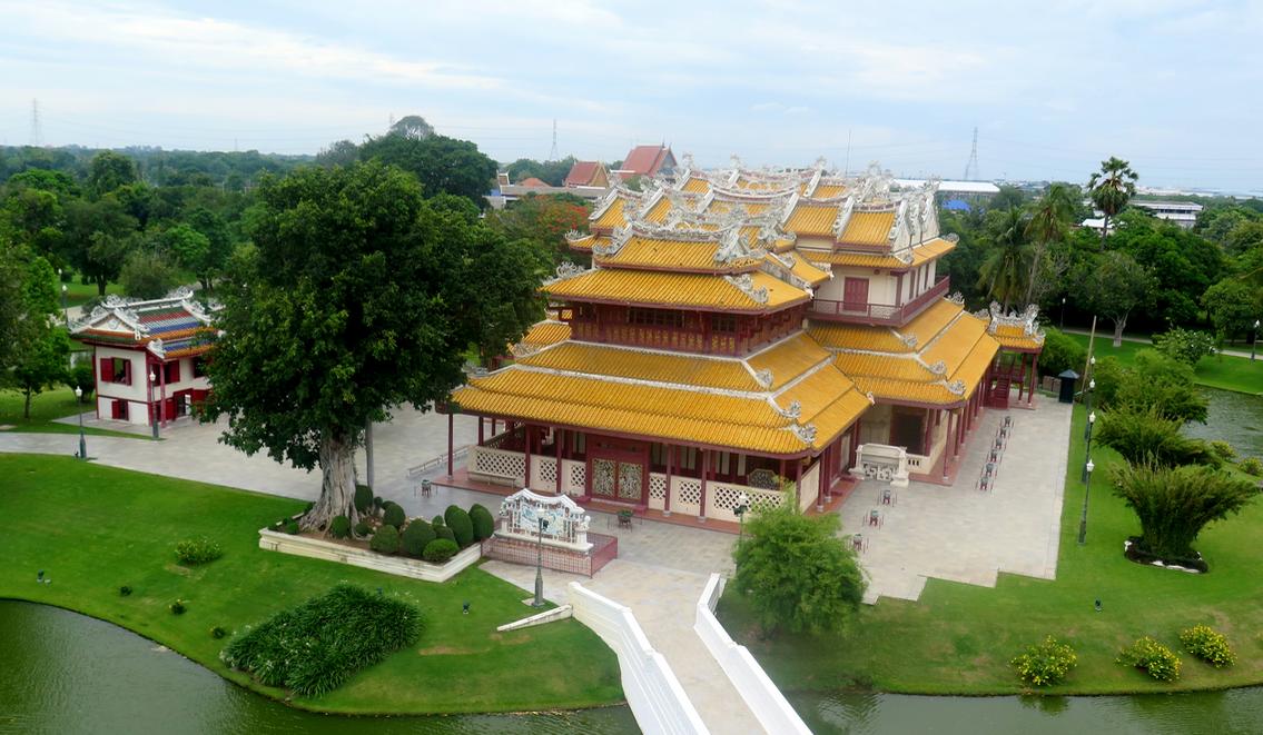 Dawn Jorgensen. Day Trip to Ayutthaya. Summer Palace 1