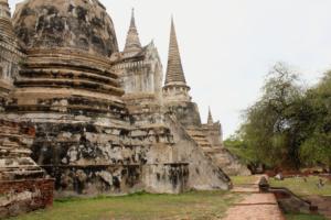 Dawn Jorgensen. Day Trip to Ayutthaya. Temple Ruins