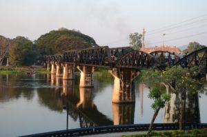 Amazing Thailand. Kanchanaburi. Bridge on the River Kwai