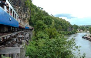 Amazing Thailand. Kanchanaburi. Death Railway