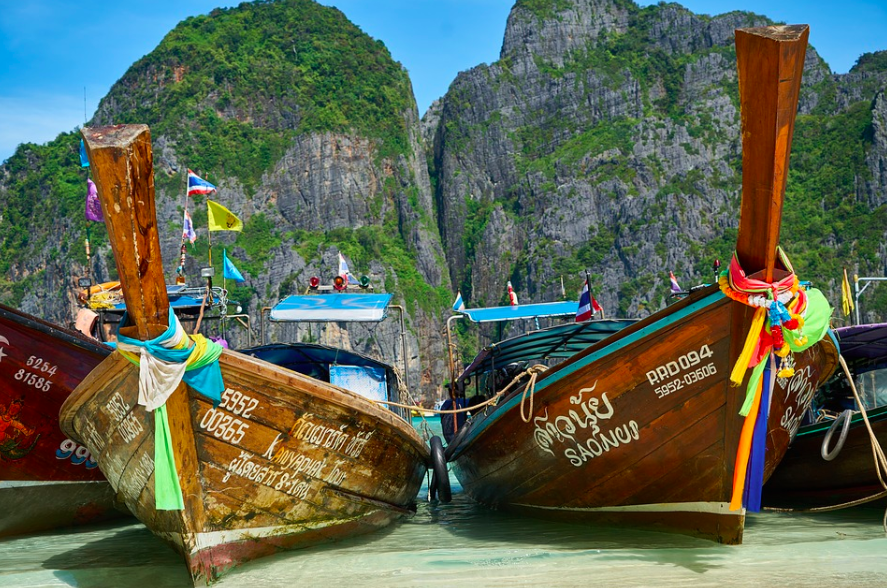 Thailand Must do Things.Long Tail Boats