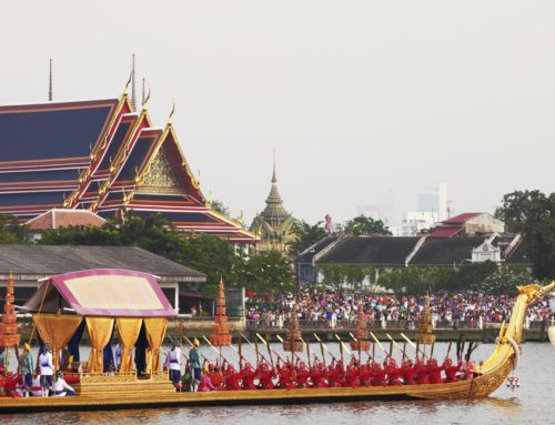 The Royal Barges Museum in Bangkok