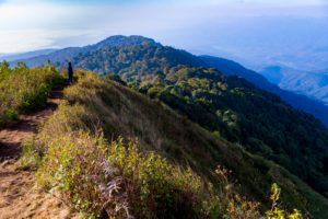 Doi Pha Hom Pok is located in Doi Pha Hom Pok National Park, Chiang Mai