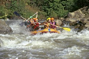 Nature, Culture and Adventure. White Water Rafting