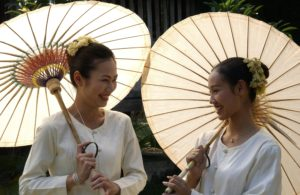 Popular Day Trips from Chiang Mai. Bo Sang Parasol 1