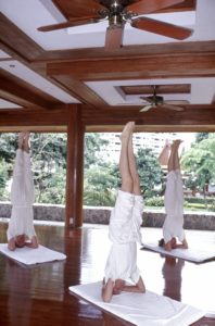 Girls Trip to Thailand. Bangkok Yoga