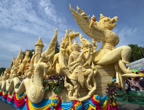 The Annual Ubon Ratchathani Candle Festival