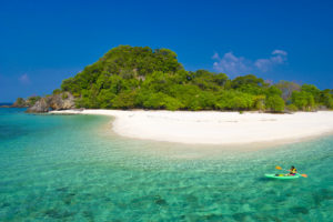 Khai Island is located inTarutao National Marine Park, Satun