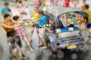 Songkran Festival, Bangkok