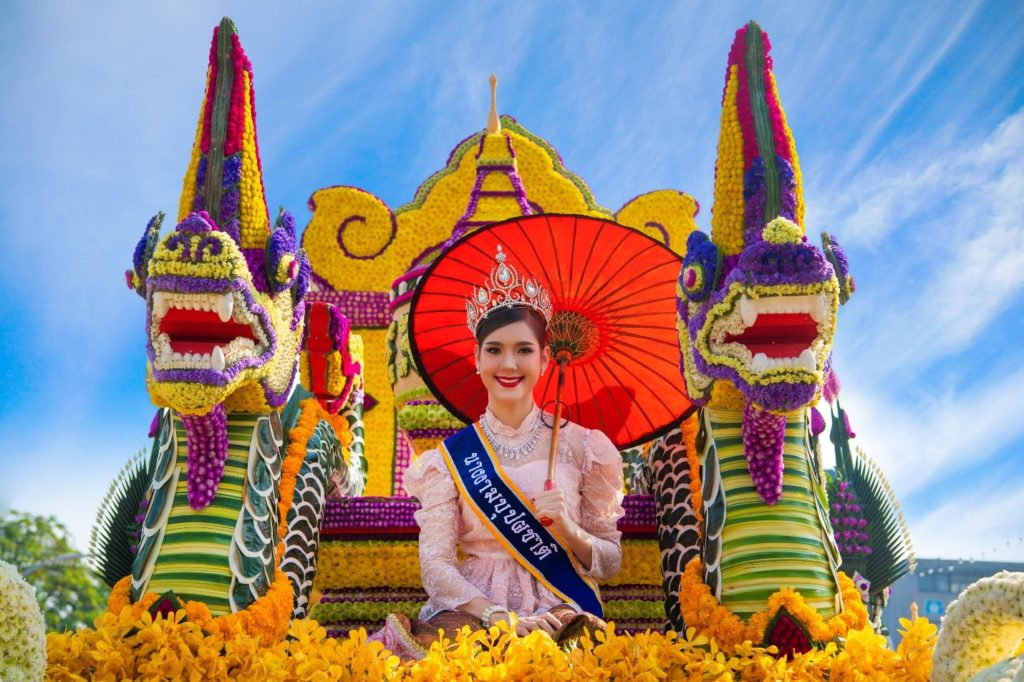 3 Chiang Mai Flower Festival, Chiang Mai, 7 to 9 February 2020