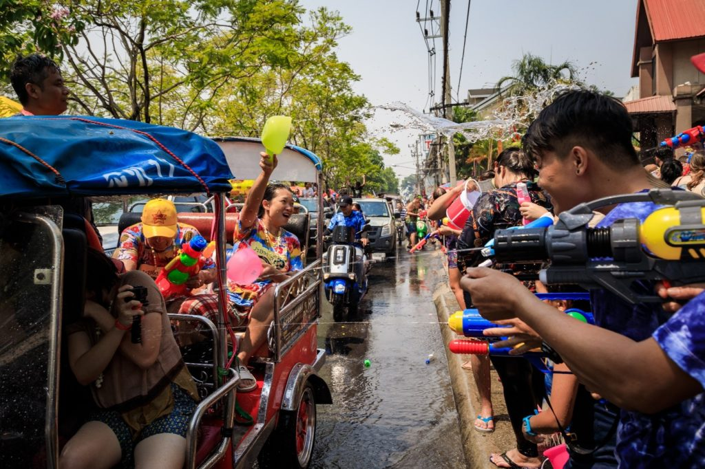 7 Songkran Thai New Year Water Festival, nationwide, 13 to 15 April 2020