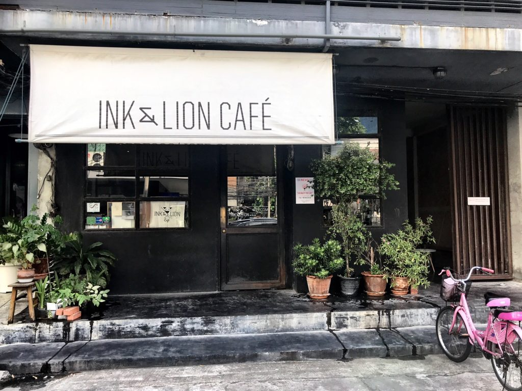 Ink _ Lion Cafe