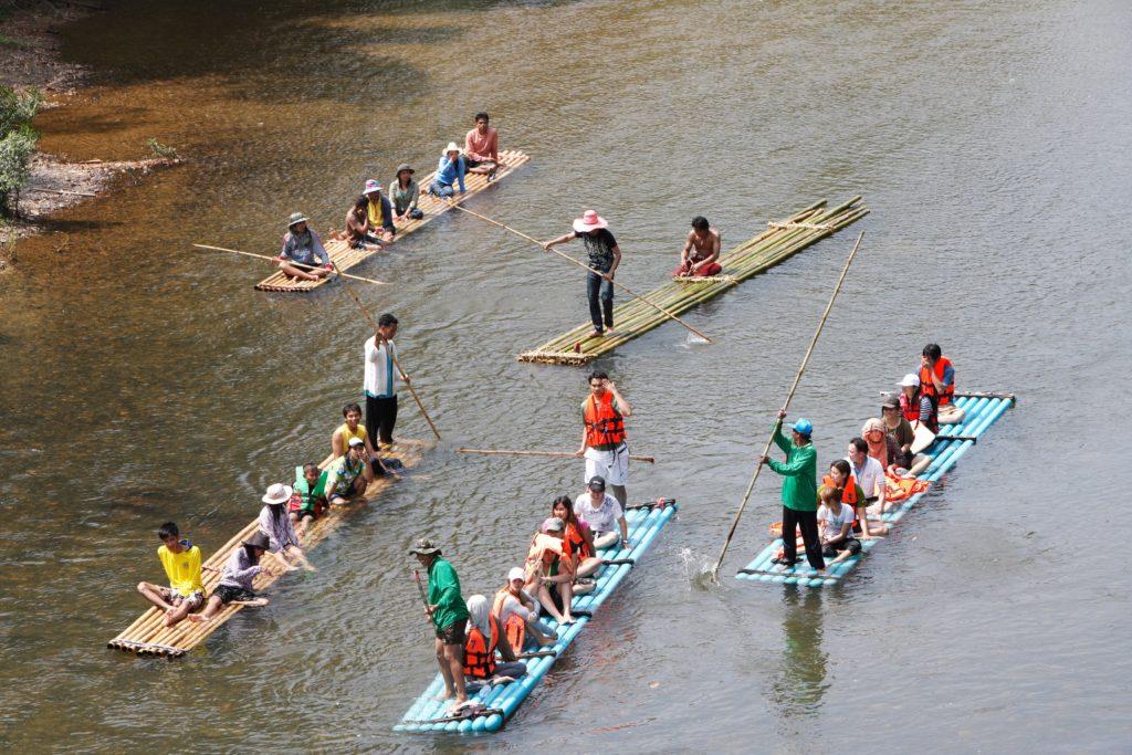 Chumphon-Rafting in Phato River at Chumphon