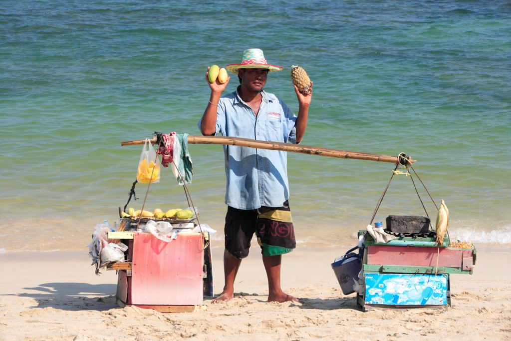 Ko Samui Beach Vendor